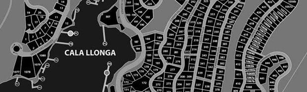 Cala Llonga Map